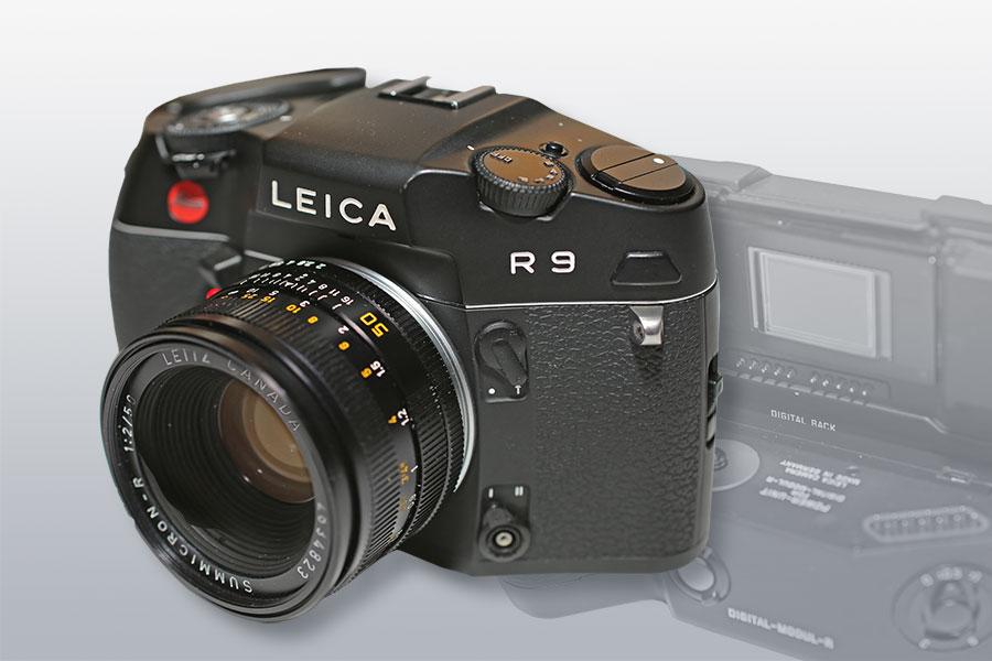 LEICA R9 mit Digital-Modul (2002/2005)