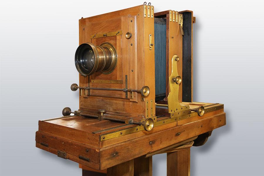 Studiokamera um 1890