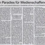 Artikel Paradies fuer Medienschaffende