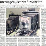 Artikel Rheinpfalz Schritt fuer Schritt