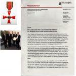 Dr. Immel Bundesverdienstkreuz Pressemitteilung
