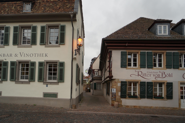 Eingang Rittergasse Deidesheim